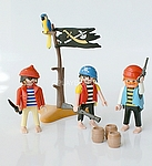 3 PIRATES PLAYMOBIL