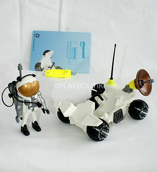 PLAYMOBIL ASTRONAUTE + BUGGY