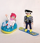 PLAYMOBIL couple sports d'hiver