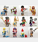 PLAYMOBIL 9146 Serie Complete