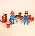 LOT DE POMPIERS PLAYMOBIL VINTAGE