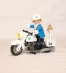 PLAYMOBIL MOTARD 3564