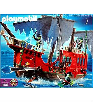 playmobil bateau pirate fantome 4806. Black Bedroom Furniture Sets. Home Design Ideas
