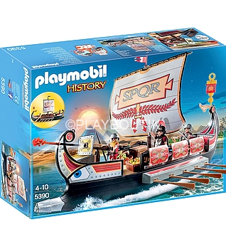 playmobil galere romaine 5390