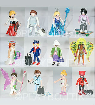 playmobil 5599 serie 9 complete