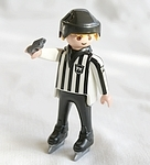 PLAYMOBIL ARBITRE DE HOCKEY