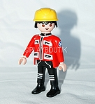 PLAYMOBIL SECOURISTE MONTAGNE