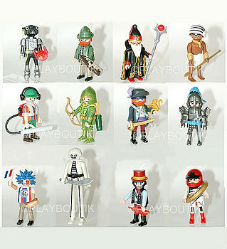 playmobil serie 10 complete 6840