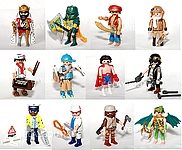 PLAYMOBIL 9332 serie complete